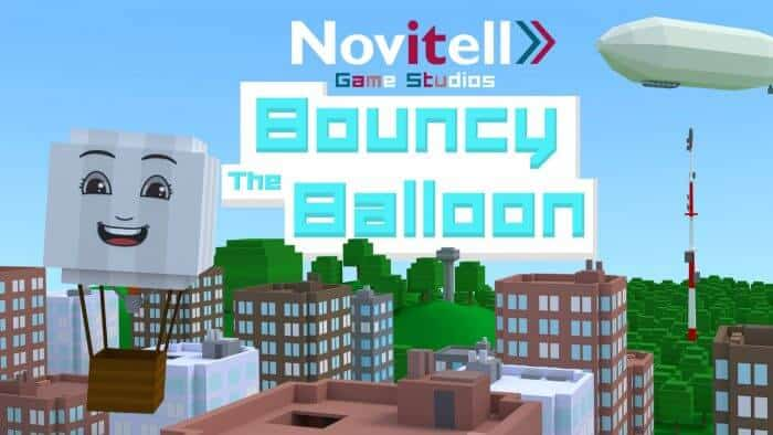 """Novitell utvecklar spel till Android och IOS, som exempelvis """"Bouncy the Balloon"""""""